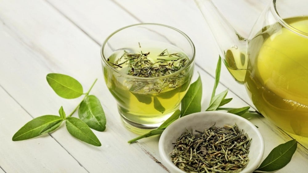 a tea pot of green tea | Feature | 8 Benefits of A Green Tea Shot for Your Health