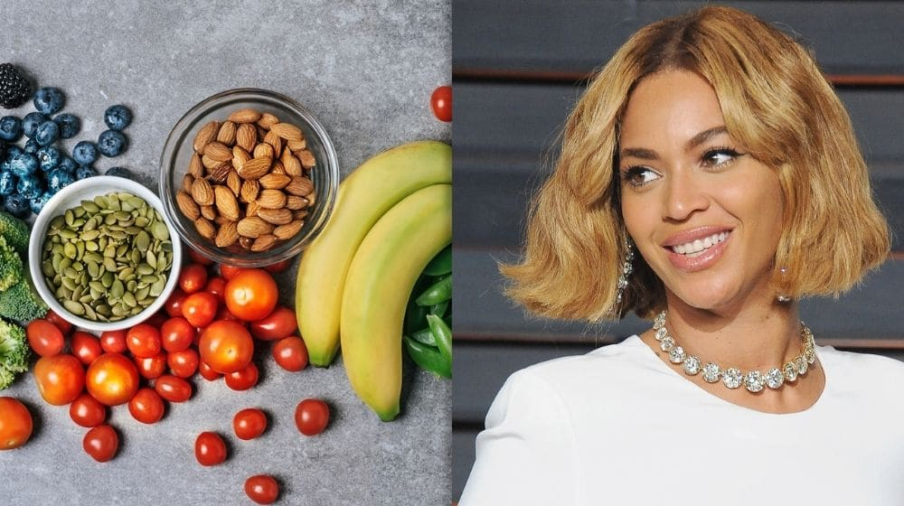 Beyonce combining with vegetable and nuts-feature-today show | Feature | Famous Vegan Celebrities And Their Reasons For Living A Vegan Life