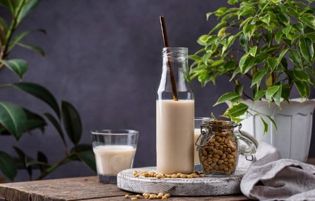 Non dairy lactose free vegan soy bean milk | Summary | What To Drink On A Raw Food Diet (And What To Avoid)